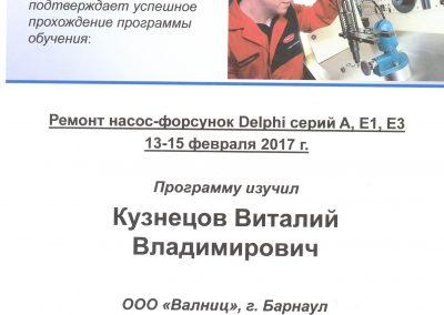 Диагностика и ремонт насос-форсунок Delphi серий A, E1, E3